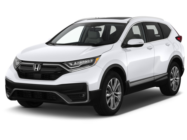 2021 Honda CR-V Touring 2WD Angular Front Exterior View