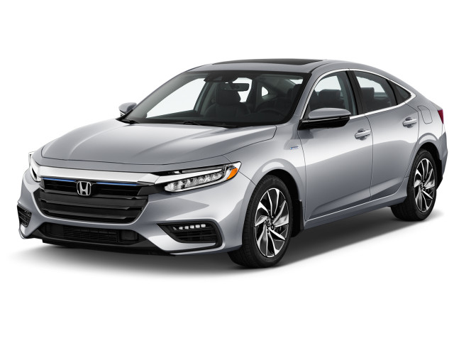 2021 Honda Insight Touring CVT Angular Front Exterior View