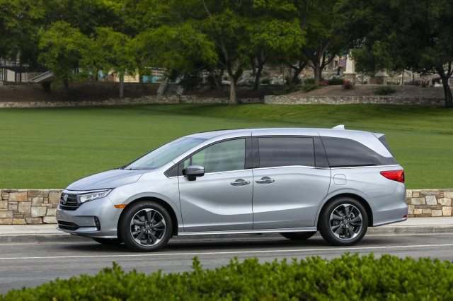 2021 Honda Odyssey earns Top Safety Pick+ award