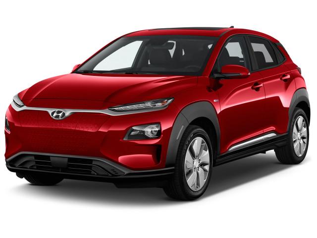 2021 Hyundai Kona Electric Ultimate FWD Angular Front Exterior View
