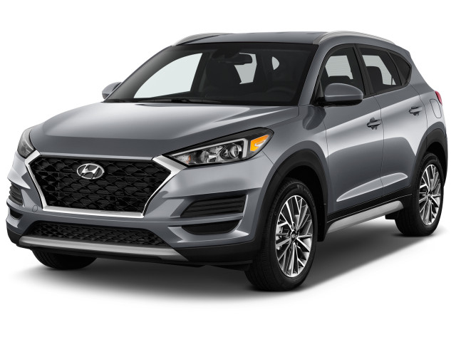 2021 Hyundai Tucson SEL FWD Angular Front Exterior View