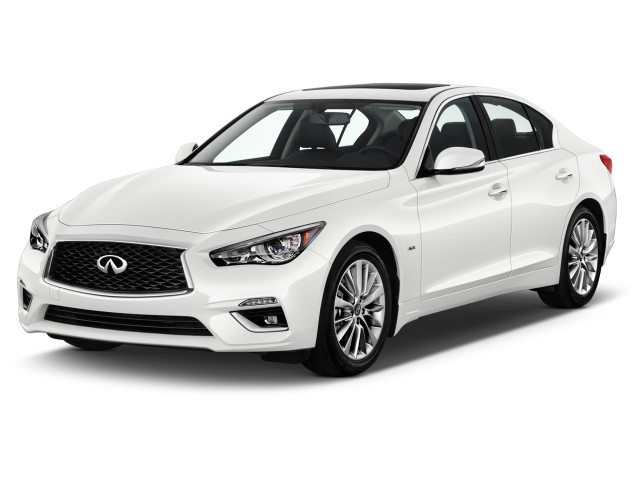 2021 INFINITI Q50 3.0t LUXE RWD Angular Front Exterior View