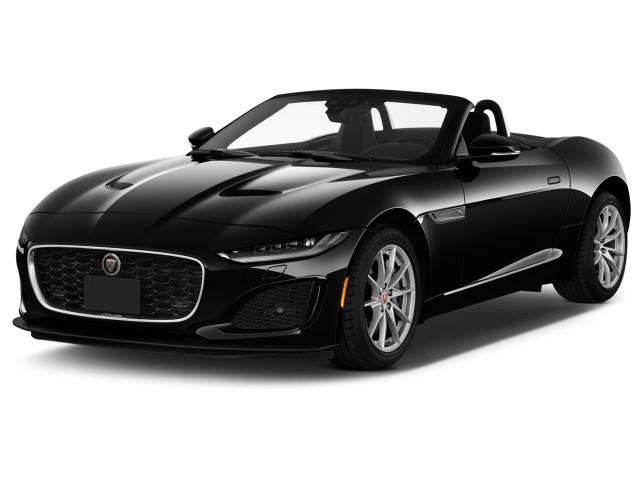 2021 Jaguar F-Type Convertible Auto R AWD Angular Front Exterior View