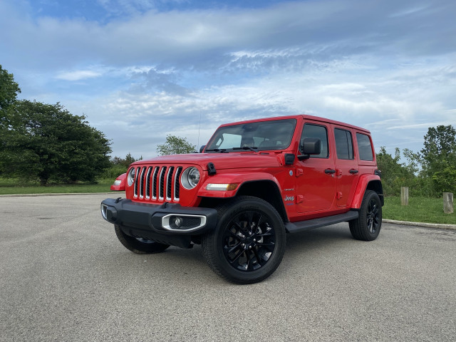 First drive: 2021 Jeep Wrangler 4xe hybrid plugs into a greener, cleaner great outdoors