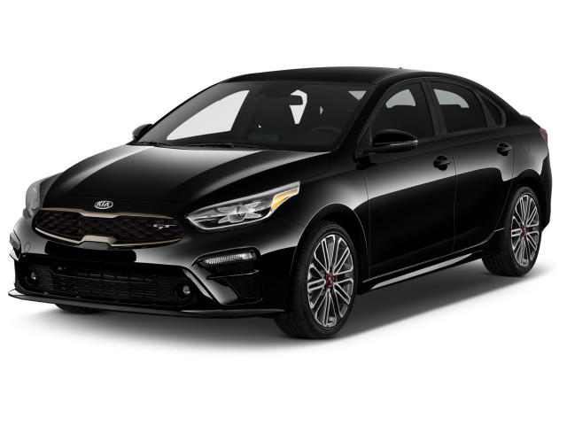 2021 Kia Forte GT DCT Angular Front Exterior View