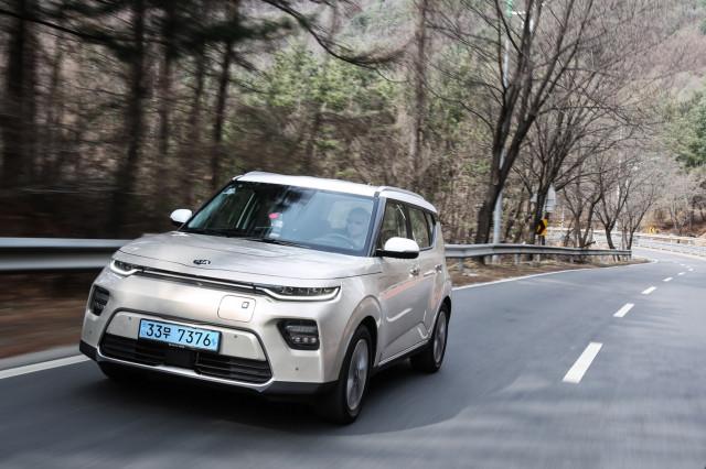 2020 Kia Soul EV first drive - South Korea - April 2019