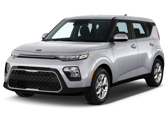 2021 Kia Soul S IVT Angular Front Exterior View