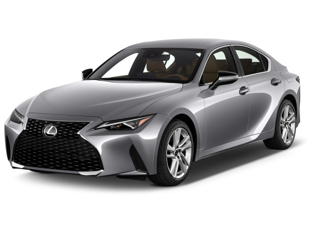2021 Lexus IS IS 300 RWD Angular Front Exterior View