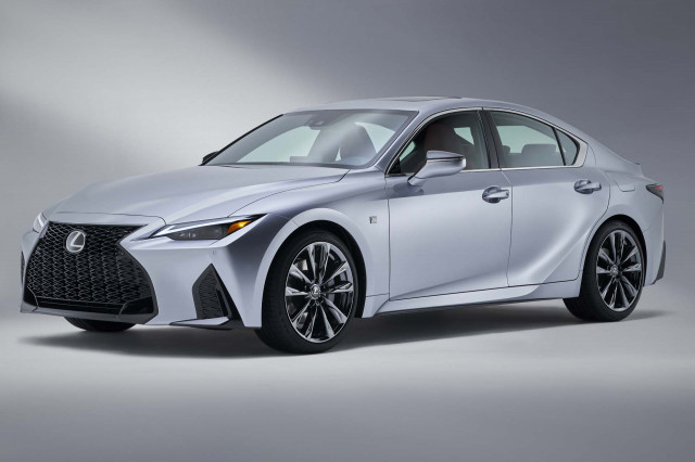 Lexus cuts price on redesigned 2021 Lexus IS F Sport