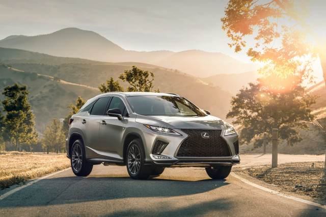 2021 lexus rx crossover suv costs 46095 adds black line