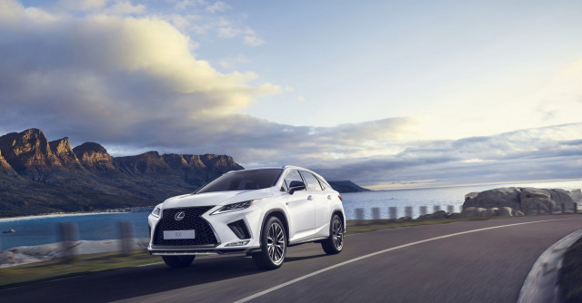 NHTSA downgrades 2021 Lexus RX 350 crash-test rating