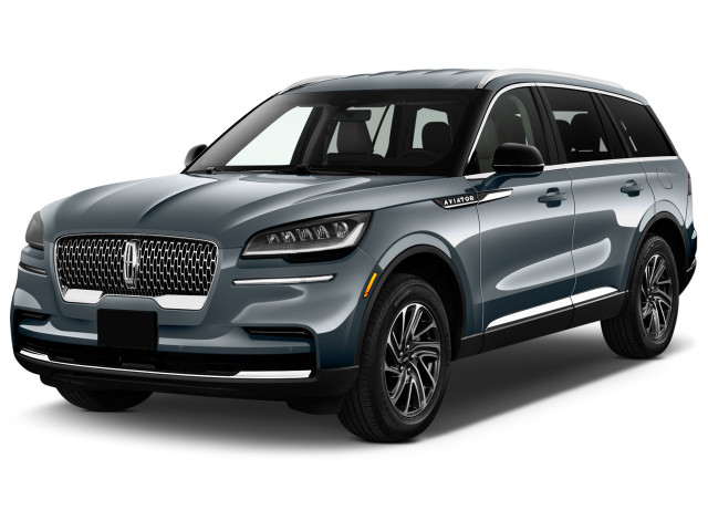 2021 Lincoln Aviator Standard AWD Angular Front Exterior View