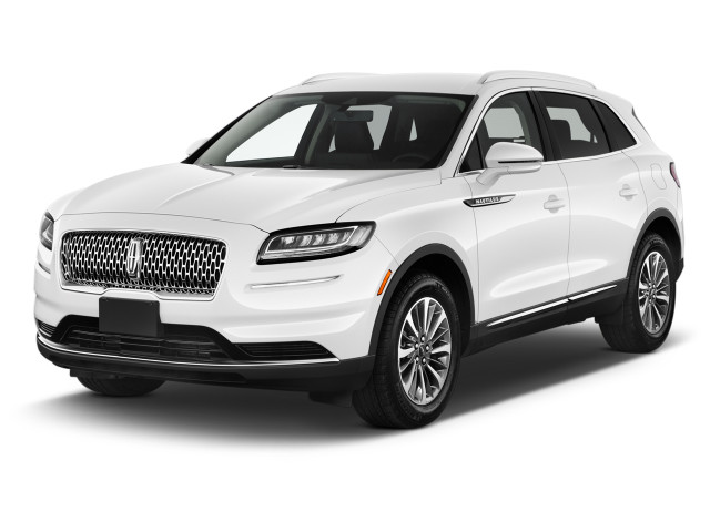 2021 Lincoln Nautilus Standard FWD Angular Front Exterior View
