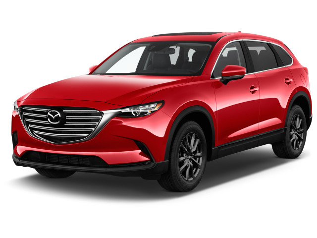 2021 Mazda CX-9 Touring FWD Angular Front Exterior View