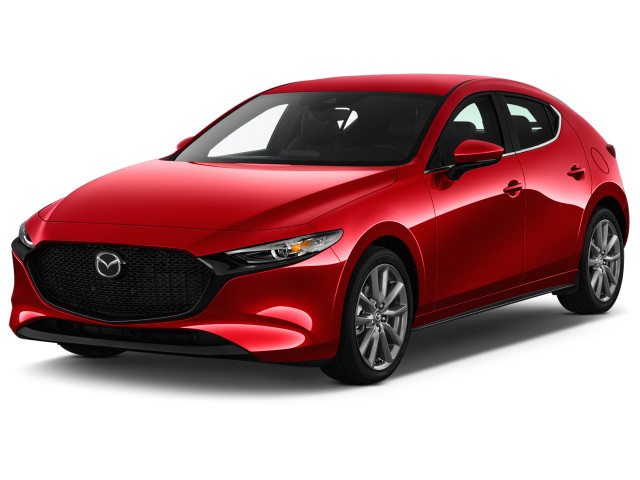 2021 Mazda MAZDA3 2.5 S Auto FWD Angular Front Exterior View