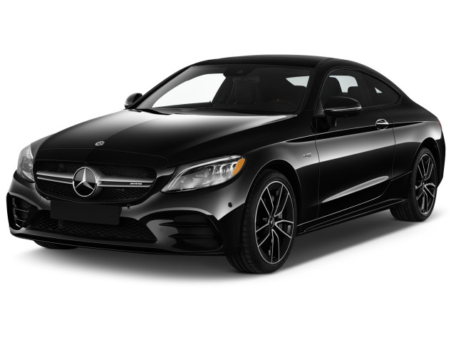 2021 Mercedes-Benz C Class AMG C 43 4MATIC Coupe Angular Front Exterior View