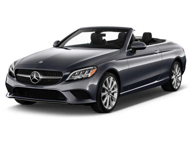 2021 Mercedes-Benz C Class C 300 Cabriolet Angular Front Exterior View