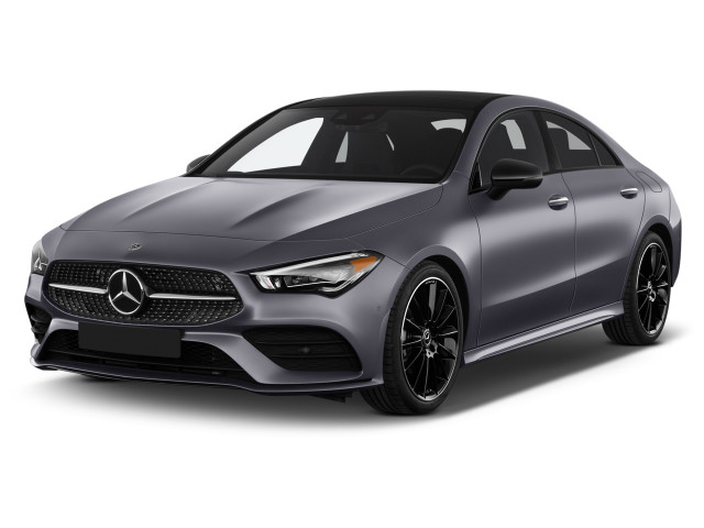 2021 Mercedes-Benz CLA Class CLA 250 Coupe Angular Front Exterior View
