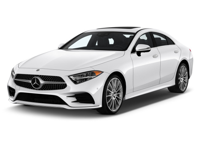 2021 Mercedes-Benz CLS Class CLS 450 Coupe Angular Front Exterior View