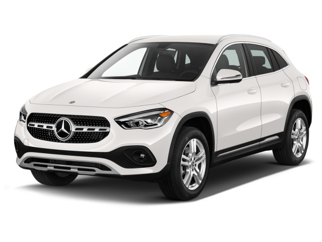 2021 Mercedes-Benz GLA Class GLA 250 SUV Angular Front Exterior View