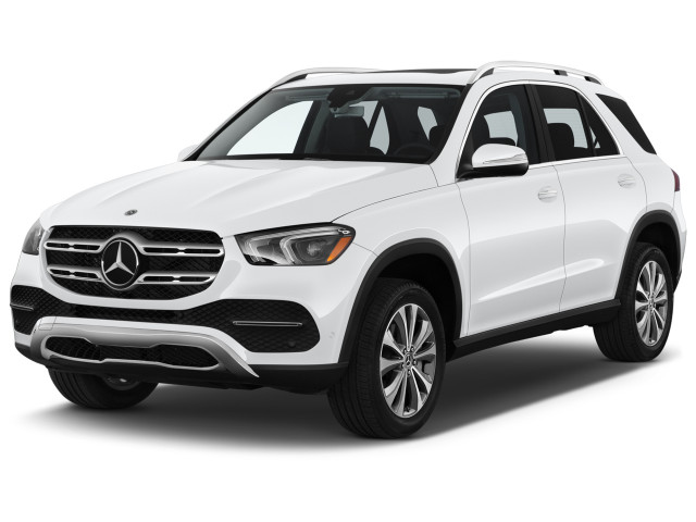 2021 Mercedes-Benz GLE Class GLE 350 SUV Angular Front Exterior View