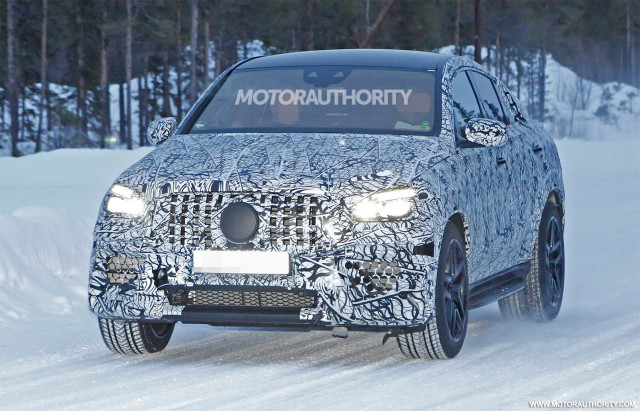 2021 Mercedes-AMG GLE63 Coupe spy shots - Image via S. Baldauf/SB-Medien