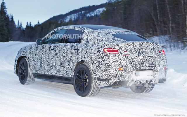 2021 Mercedes-Benz GLE63 Coupe spy shots - Image via S. Baldauf/SB-Medien