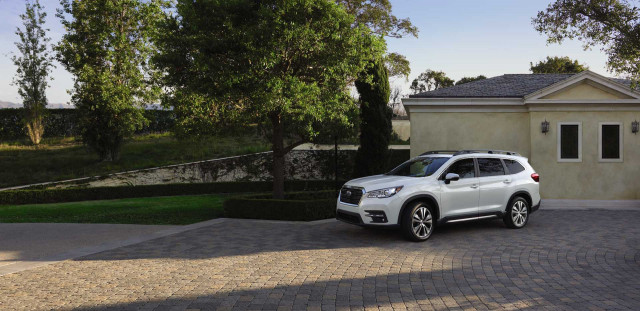 2021 Subaru Ascent SUV awarded Top Safety Pick+