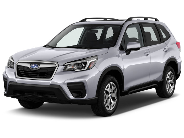 2021 Subaru Forester Premium CVT Angular Front Exterior View