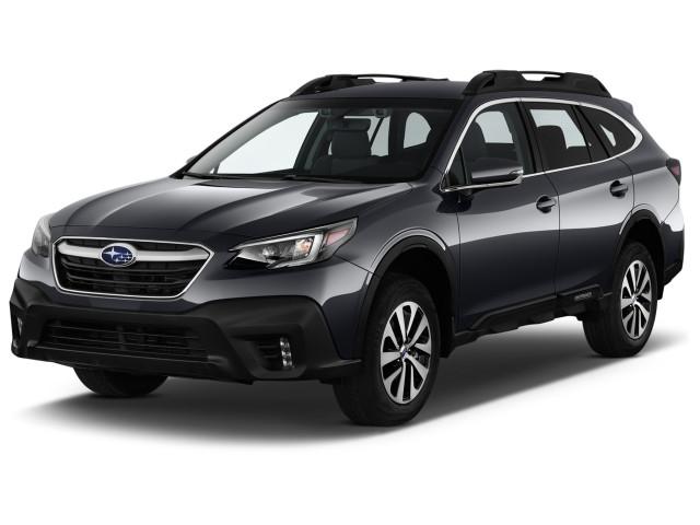 2021 Subaru Outback Premium CVT Angular Front Exterior View