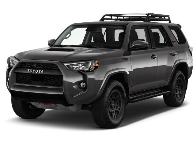 2021 Toyota 4Runner Angular Front Exterior View