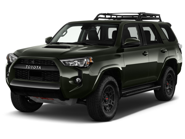 2021 Toyota 4Runner TRD Pro 4WD (Natl) Angular Front Exterior View