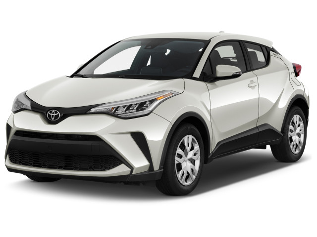 2021 Toyota C-HR LE FWD (Natl) Angular Front Exterior View