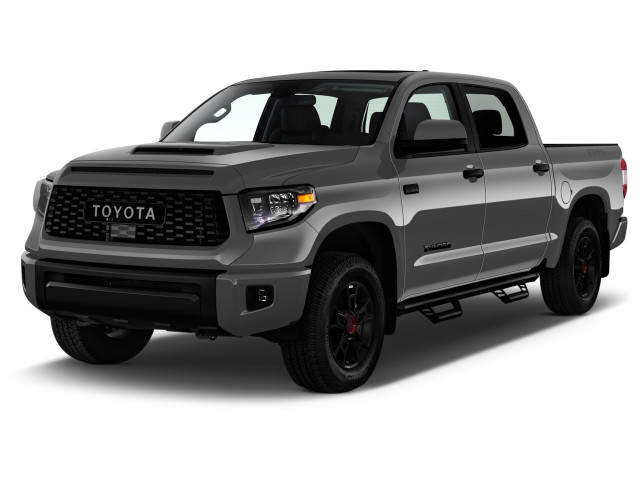 2021 Toyota Tundra TRD Pro CrewMax 5.5' Bed 5.7L (Natl) Angular Front Exterior View