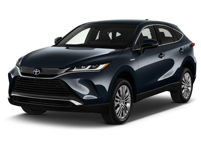 2021 Toyota Venza Limited AWD (Natl) Angular Front Exterior View