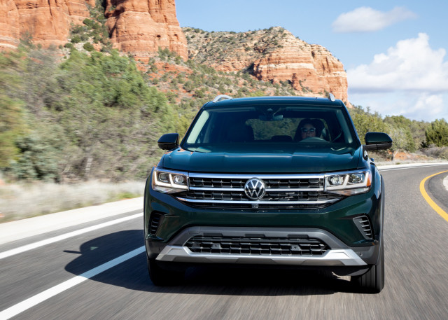 2021 Volkswagen Atlas with Basecamp package