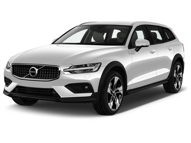 2021 Volvo V60 T5 AWD Angular Front Exterior View