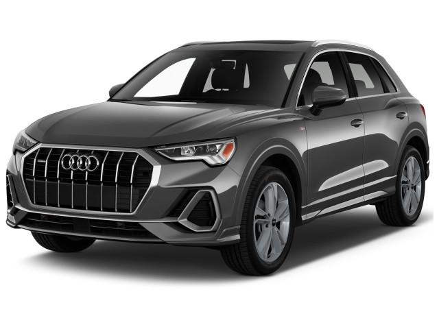 2022 Audi Q3 Premium Plus 40 TFSI quattro Angular Front Exterior View