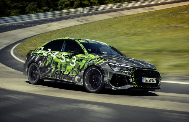 2022 Audi RS 3 sets 7:40.748 Nürburgring lap time