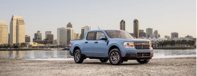 2022 Ford Maverick buzzes the tower for hybrid trucks