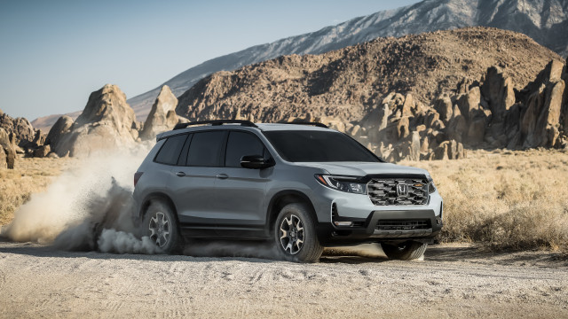 Refreshed 2022 Honda Passport adds TrailSport trim and burlier styling