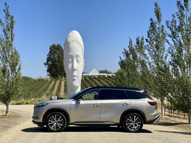 First drive: 2022 Infiniti QX60 finds its path with style and flair