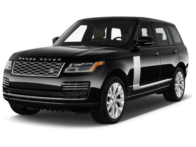2022 Land Rover Range Rover Autobiography SWB Angular Front Exterior View