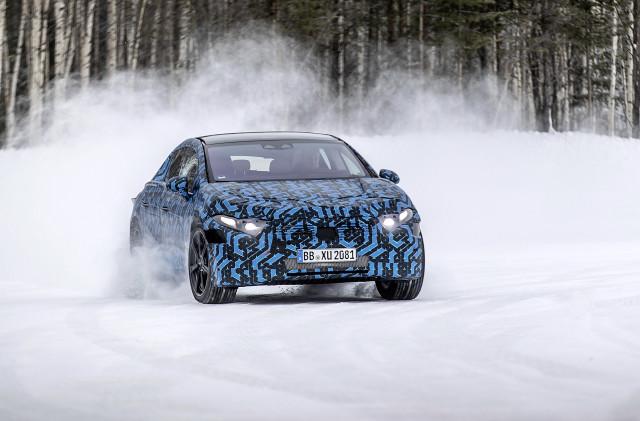 2022 Mercedes-Benz EQS prototype