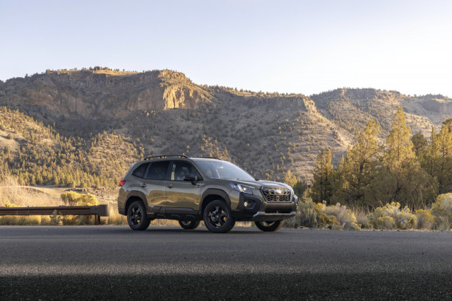 First drive: 2022 Subaru Forester Wilderness rings the mountains