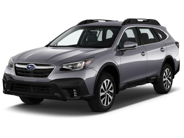 2022 Subaru Outback Premium CVT Angular Front Exterior View