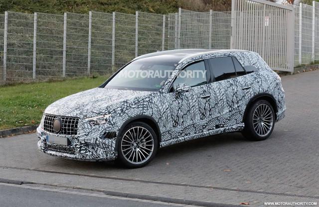 2023 Mercedes-Benz AMG GLC 53 spy shots - Photo credit:S. Baldauf/SB-Medien
