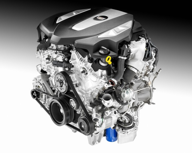 3.0-liter twin-turbo V-6 for the 2016 Cadillac CT6