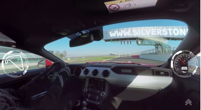 2015 Ford Mustang GT at Silverstone
