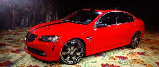 50 Cent shows off his 500HP Pontiac G8